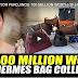 LOOK! VICE MAYOR PAROJINOG 100 MILLION WORTH OF HERMES BAGS