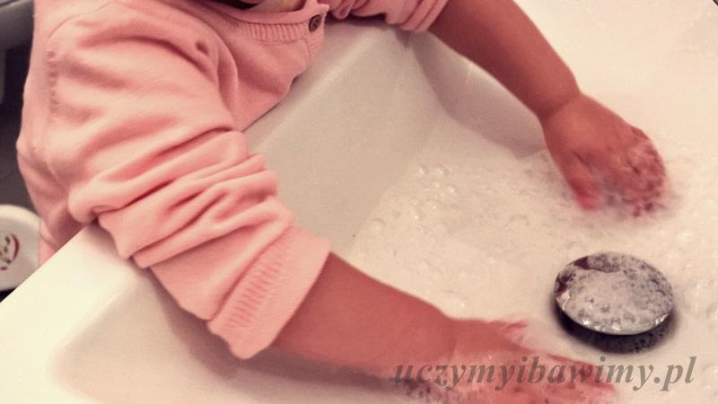 montessori - samodzielne mycie rąk