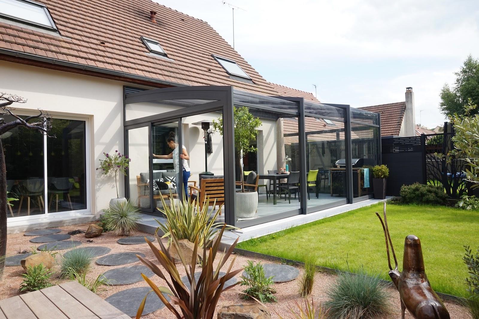 Adc l 39 atelier d 39 c t am nagement int rieur design d for Salon ouvert sur terrasse
