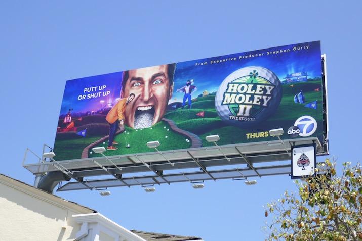 Holey Moley II billboard
