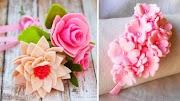 9 Maneiras muito fáceis de fazer flor! 🌺
