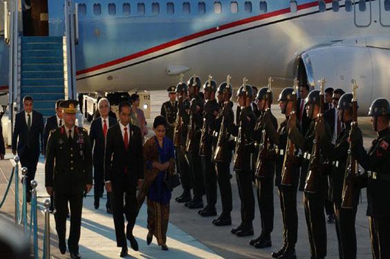 Biaya Perjalanan Keluarga Jokowi di Tanggung Jokowi Sendiri Saat Berkunjung Ke Turki-Jerman