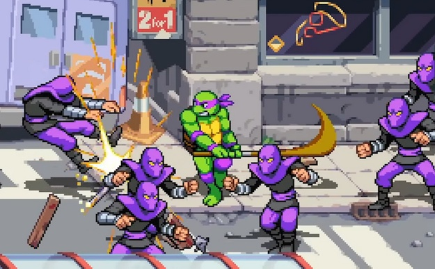 Teenage Mutant Ninja Turtles: Shredder's Revenge Switch