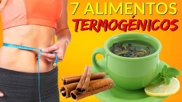 7 Alimentos Termogénicos que Aceleran el Metabolismo para Perder Peso
