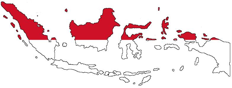 Negara ini memiliki perairan sangat indah dengan luas 3.257.483 km 2. 12 Peta Indonesia Tanpa Warna