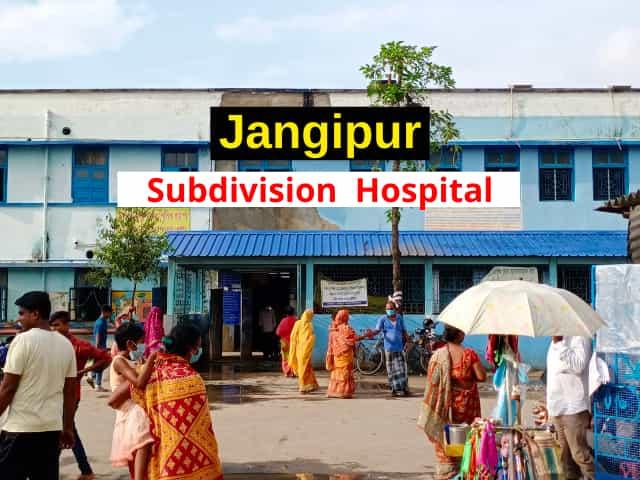 Jangipur Subdivision Hospital full information | Jonotaa