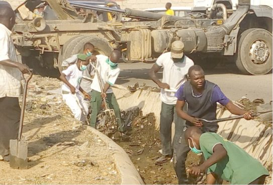 Jalingo Youths vanguard embark on voluntary weekly sanitation