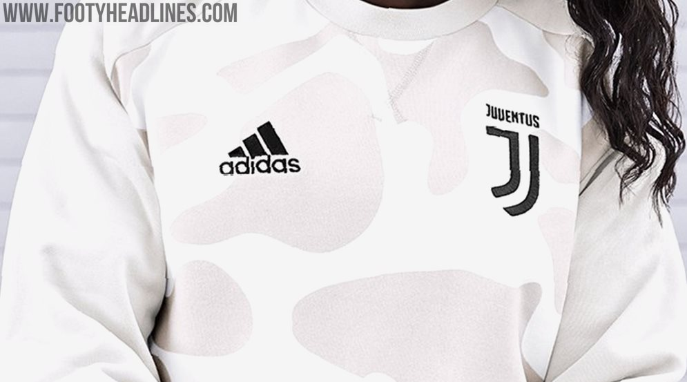 save off a4bbc 8d113 Special Adidas Juventus 19-20 Camo Sweatshirt Released ...