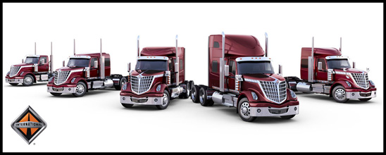 Family of International Lonestar Trucks