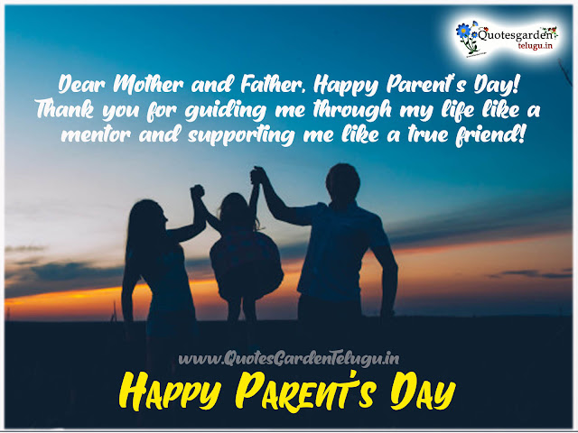 Parents Day Quotes and Sayings whatsapp status sms