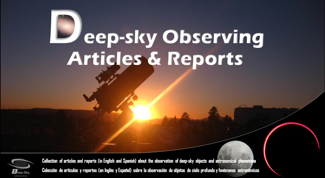 Deep Sky Observing Articles & Reports