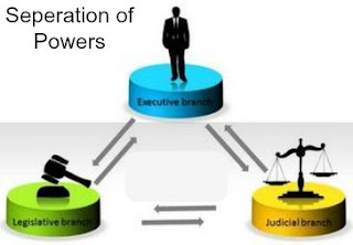 Theory of separation of power is necessary to avoid the despotism. It helps in preserving the rights and liberty of Individual citizen.