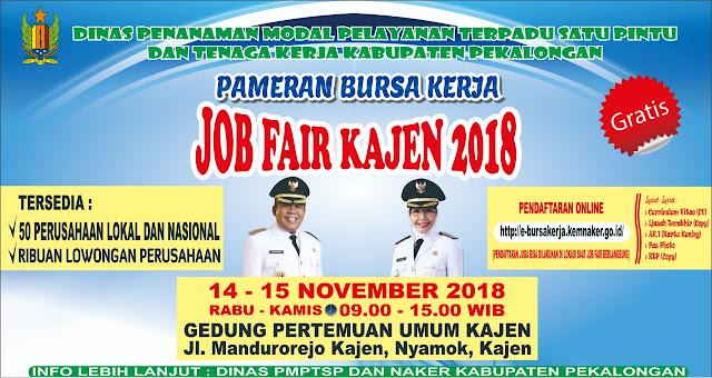Kob Fair Kabupaten Pekalaongan (GRATIS)