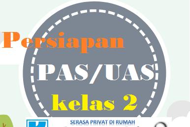 Bank Soal SD Kelas 2 Kurikulum 2013 Revisi 2017 Untuk PAS / UAS