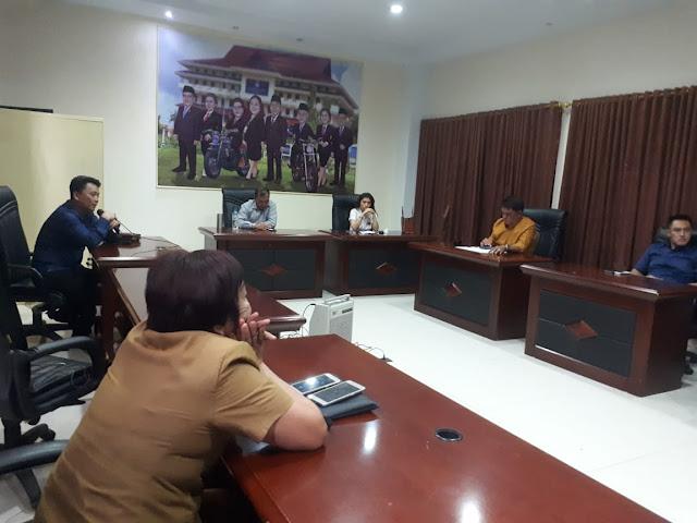 Komisi III DPRD Kota Manado Hearing bersama Dinas Lingkungan Hidup