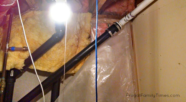 how to put bathroom in basement without breaking concrete
