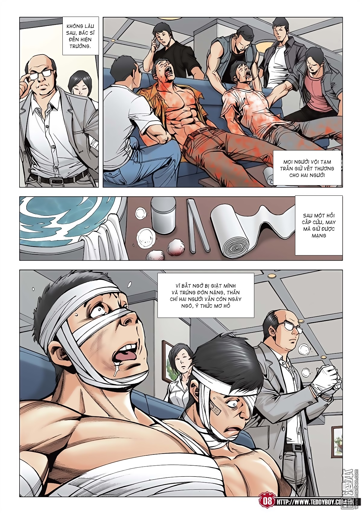Người Trong Giang Hồ chapter 2046: thiên thu và đinh dao trang 5
