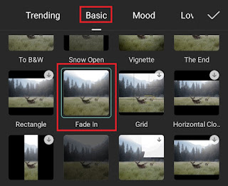 how to fade in video on capcut