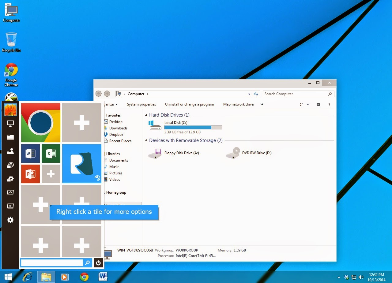 Windows 10 Transformation Pack for your Windows 7/8/8 1