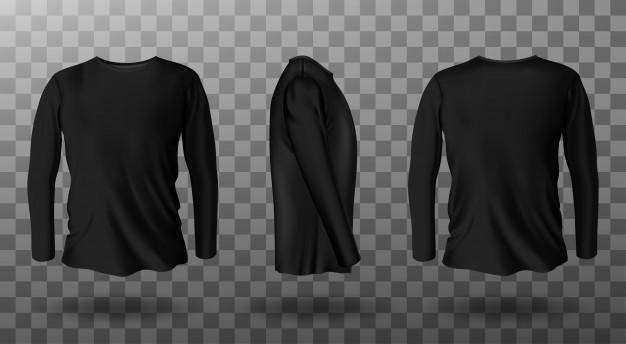 500 gambar baju hitam polos muka belakang hd paling keren 8 12 2012 download now desain kaos polos depan belakang warna. Mockup Baju Polos Hitam Free Psd All Mockups Template Design Assets
