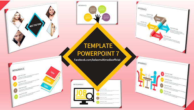 Template Powerpoint 7 - 50 slides
