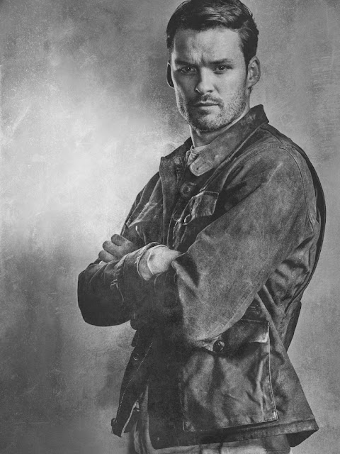 Austin Nichols como Spencer Monroe – The Walking Dead _ sexta temporada, Silver Portraits – Photo Credit: Frank Ockenfels 3/AMC