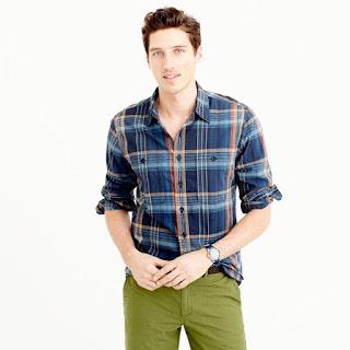 plaid, mens shirt