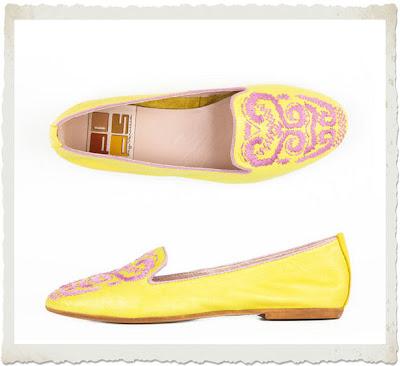 slippers POPS gialle