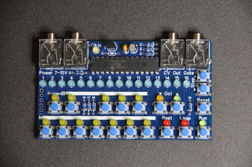 Matrixsynth division 6 business card sequencer a business card that is actually functional i love it when manufactures do this analogue solutions had a circuit board business card as well colourmoves