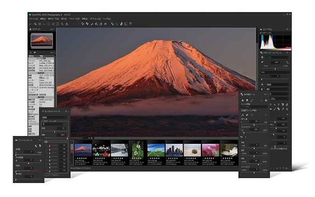 SILKYPIX JPEG Photography 9.2.7.1 (x64)  F.u.l.l - Phần mềm chỉnh sửa ảnh chuyên nghiệp 2019
