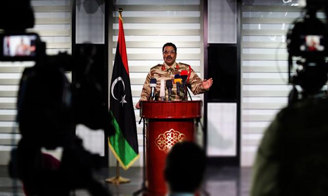 أحمد المسماري: يؤكد سعي تركيا و قطر لإيجاد قواعد في تونس تساند الإرهابيين الإخوان في ليبيا