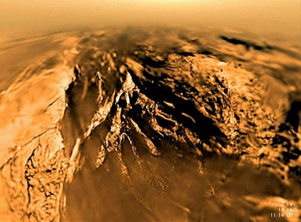 Chemical trail on Saturn's Moon Titan may be key to prebiotic conditions
