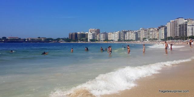 Praia de Copacabana, Rio de Janeiro, Posto 4