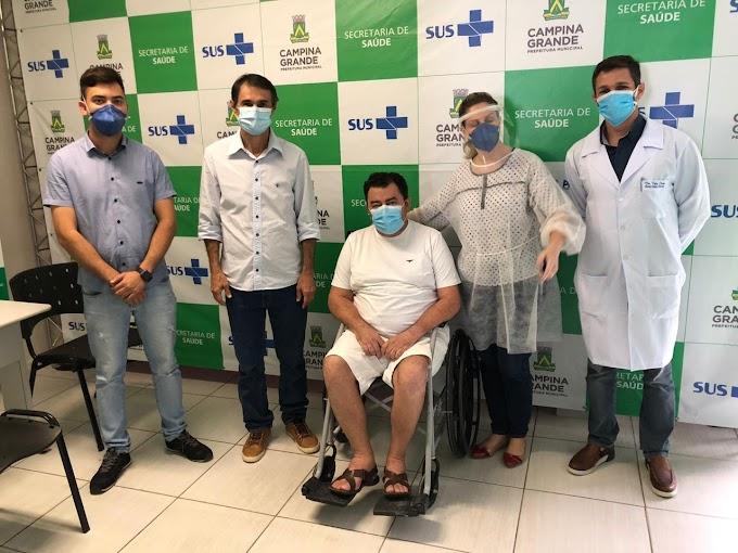 Prefeito Geraldo Moura vence Covid-19, recebe alta e retoma atividades em Soledade