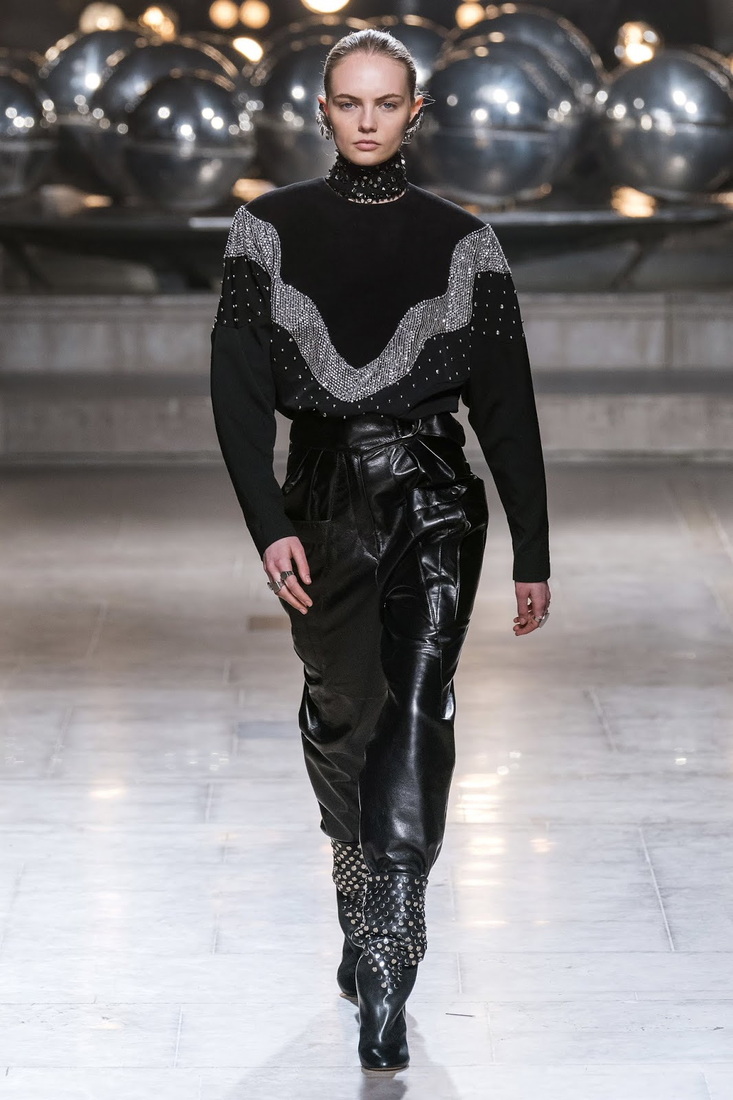 Trend Report | Leather Trousers