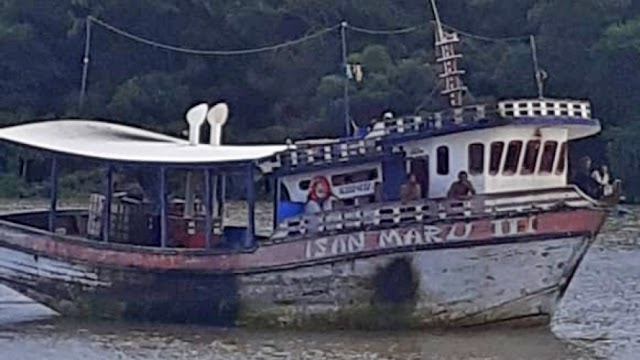 Embarcação desaparecida no mar com camocinenses é resgatada no Pará