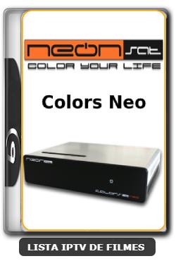 Neonsat Colors Neo Nova Atualização Melhorias no sistema IKS e Correção no Neon Steam C97 - 04-06-2020