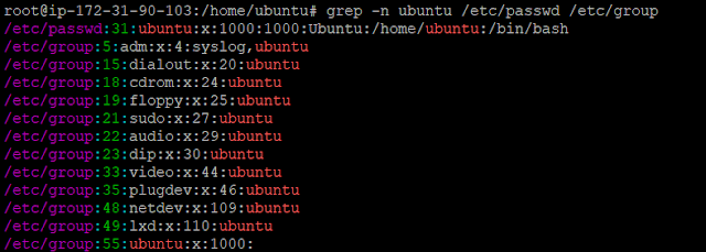 how to use grep command in linux