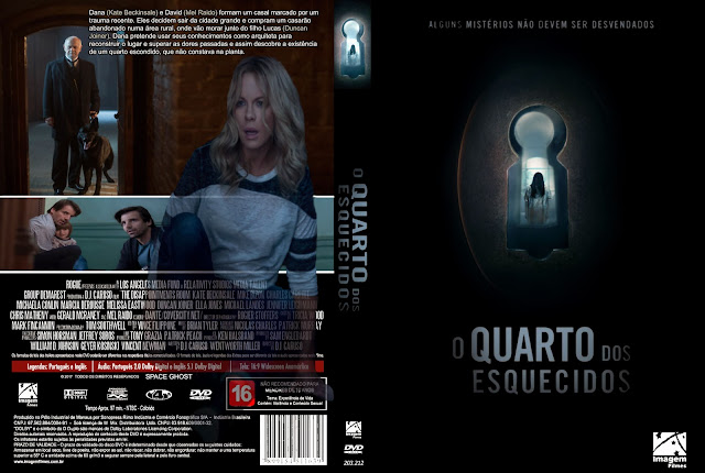 Capa DVD O Quarto Dos Esquecidos