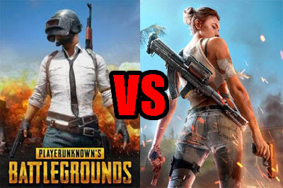 PUBG Mobile VS Free Fire