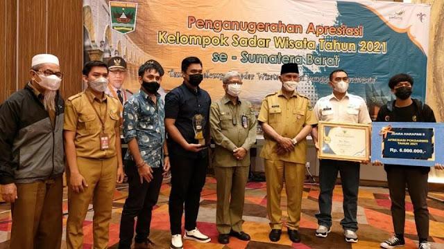Desa Wisata Apar raih Top 5 Pokdarwis terbaik Sumatra Barat
