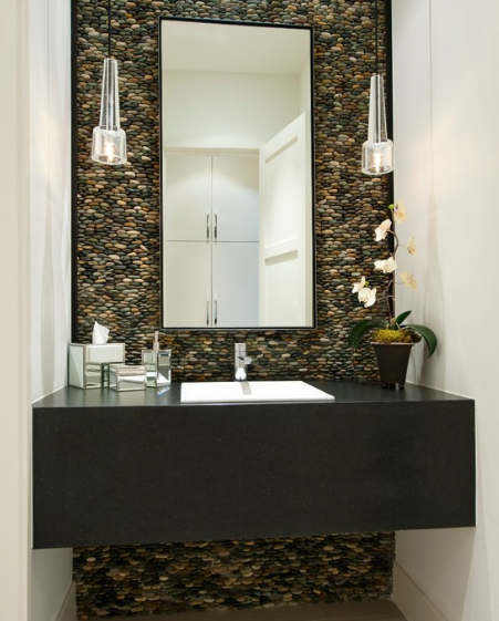 CREATIVE IDEAS FOR ROCKS DECORATED HOME