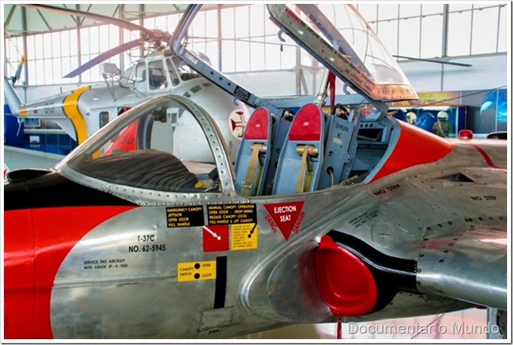 Cessna T-37; Museu do Ar; Base Aérea Nº 1; museu aeronáutico; Pêro Pinheiro; Sintra