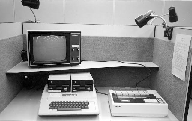 Epson MX-80 and Apple II