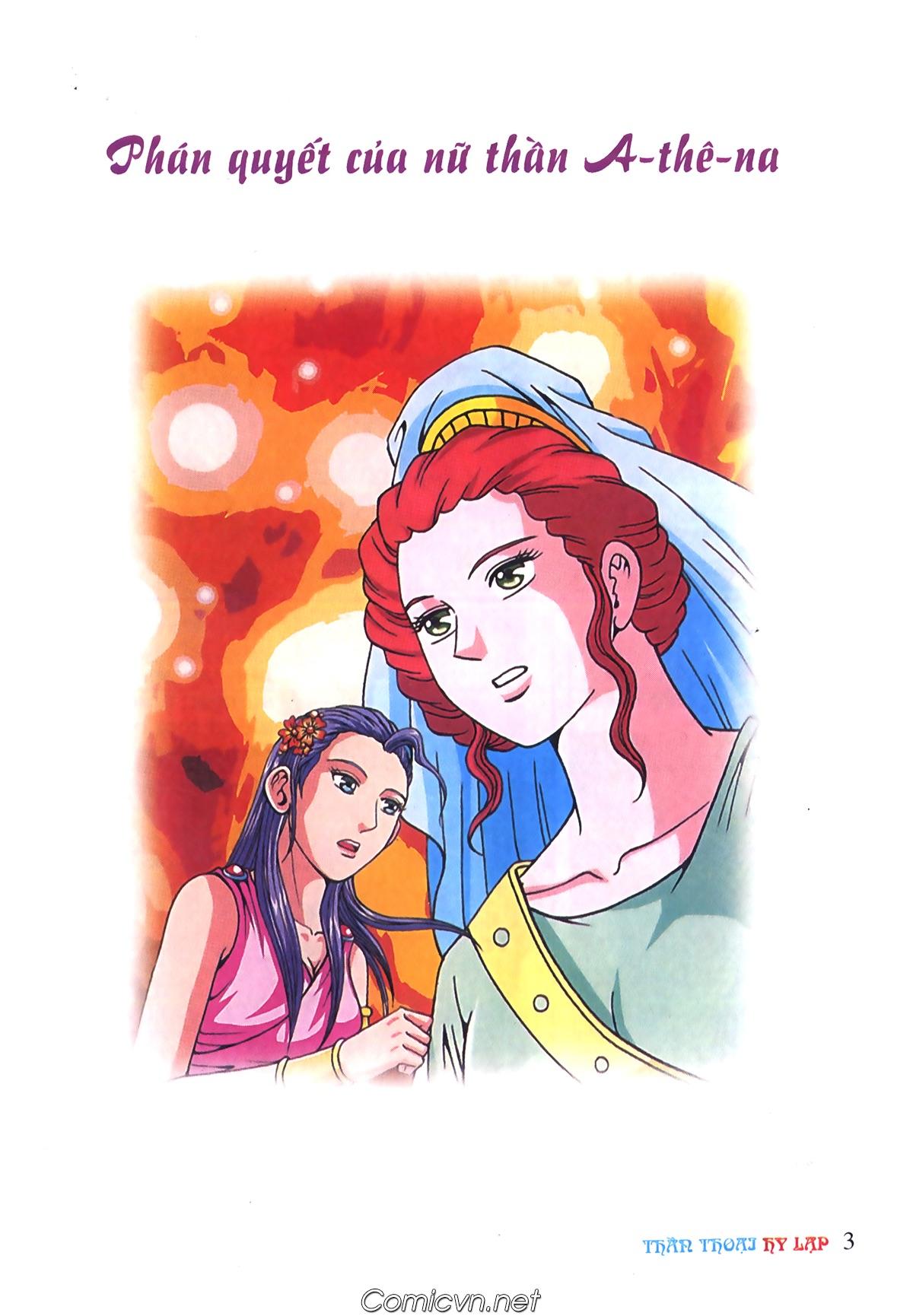 Thần Thoại Hy Lạp Màu - Chapter 72: Phán quyết của Nữ thần Athena - Pic 2