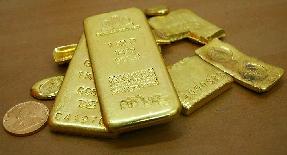 أسعار الذهب تشهد انخفاضا عالميا