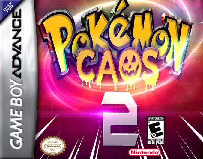 Pokémon Caos 2 GBA ROM