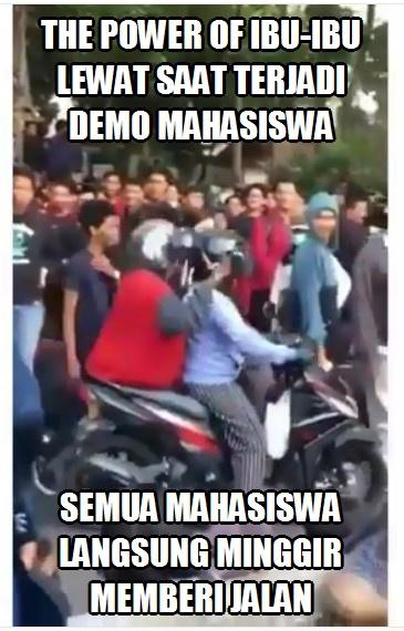 Meme Demo Para Mahasiswa