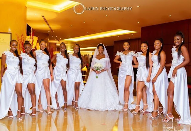 BamBam and Teddy A White wedding photos