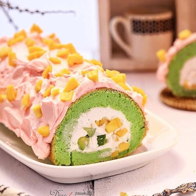 Resep Roll Cake - Es Teller Roll Cake